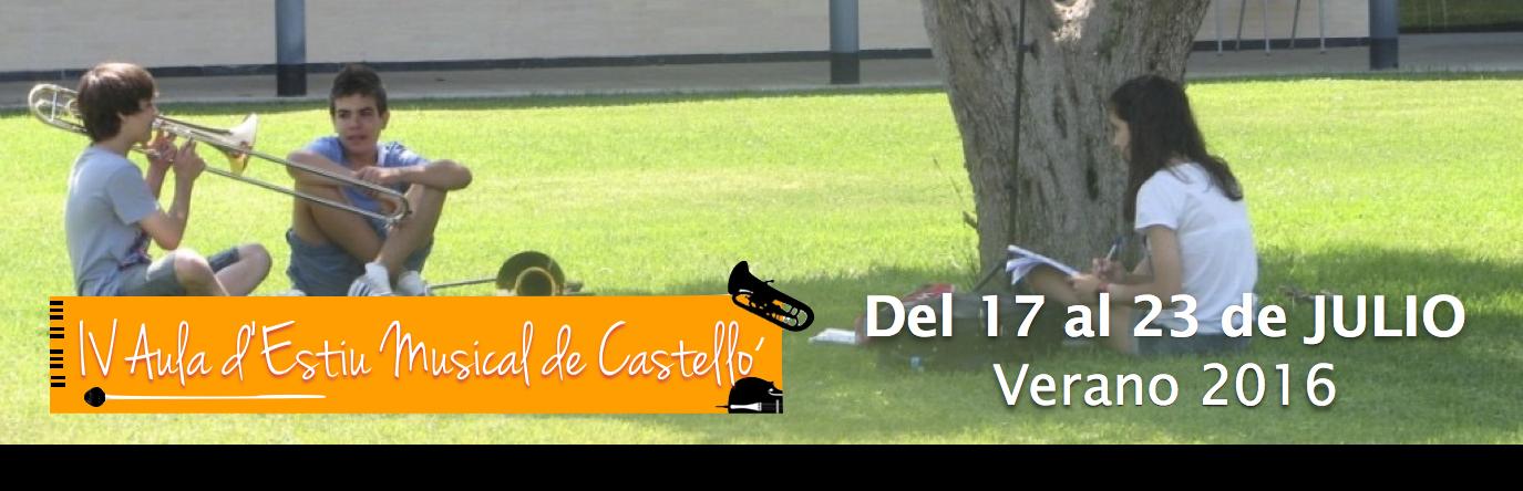 Aula d'Estiu Musical Castelló